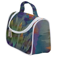 Mountains Abstract Mountain Range Satchel Handbag by Nexatart