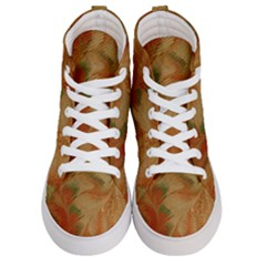 Mottle Color Movement Colorful Women s Hi-top Skate Sneakers