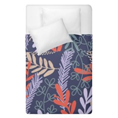 Summer Leaves Duvet Cover Double Side (single Size) by charliecreates