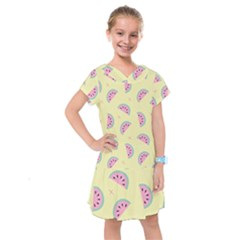 Watermelon Wallpapers  Creative Illustration And Pattern Kids  Drop Waist Dress by BangZart