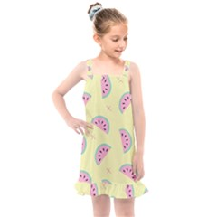 Watermelon Wallpapers  Creative Illustration And Pattern Kids  Overall Dress