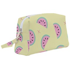 Watermelon Wallpapers  Creative Illustration And Pattern Wristlet Pouch Bag (large) by BangZart