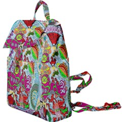 Supersonic Volcanic Splash Buckle Everyday Backpack by chellerayartisans