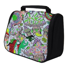 Supersonic Volcanic Mushroom Power Full Print Travel Pouch (small)
