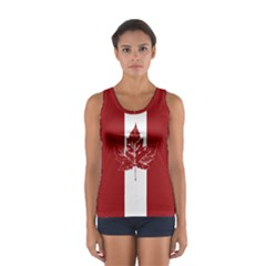 Cool Canada Shirts Sport Tank Top  by CanadaSouvenirs