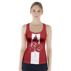 Cool Canada Shirts Racer Back Sports Top by CanadaSouvenirs