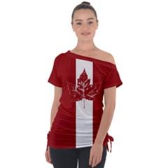 Cool Canada Shirts Tie Up Tee by CanadaSouvenirs