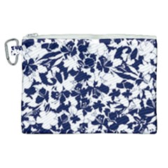 Flowers Garden Textiles Fabric Canvas Cosmetic Bag (xl)