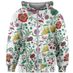 Flowers Garden Tropical Plant Kids  Zipper Hoodie Without Drawstring