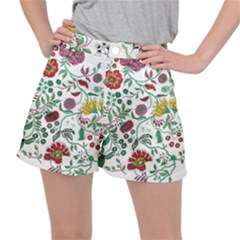Flowers Garden Tropical Plant Ripstop Shorts