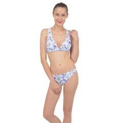 Father s Day Reason Texture Classic Banded Bikini Set