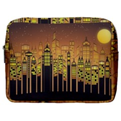 Buildings Skyscrapers City Make Up Pouch (large)