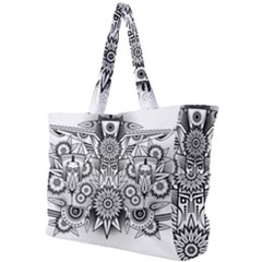 Forest Patrol Tribal Abstract Simple Shoulder Bag