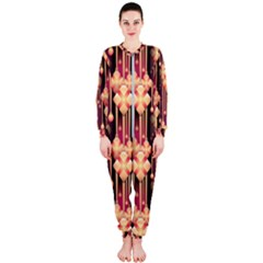 Illustrations Seamless Pattern OnePiece Jumpsuit (Ladies)