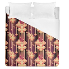 Illustrations Seamless Pattern Duvet Cover (Queen Size)