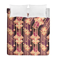 Illustrations Seamless Pattern Duvet Cover Double Side (Full/ Double Size)