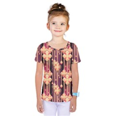 Illustrations Seamless Pattern Kids  One Piece Tee