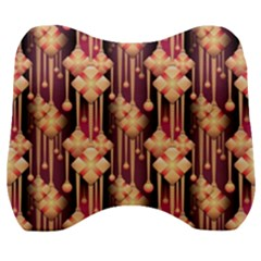 Illustrations Seamless Pattern Velour Head Support Cushion