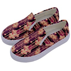 Illustrations Seamless Pattern Kids  Canvas Slip Ons