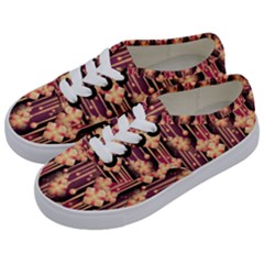 Illustrations Seamless Pattern Kids  Classic Low Top Sneakers
