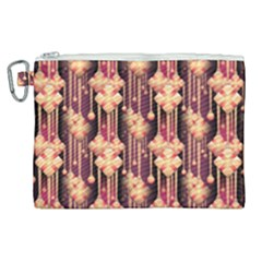 Illustrations Seamless Pattern Canvas Cosmetic Bag (XL)
