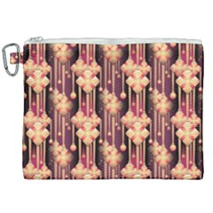Illustrations Seamless Pattern Canvas Cosmetic Bag (XXL)