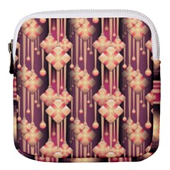 Illustrations Seamless Pattern Mini Square Pouch