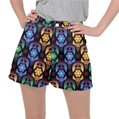 Pattern Background Bright Blue Ripstop Shorts