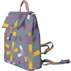 Background Abstract Non Seamless Buckle Everyday Backpack