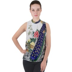 Image From Rawpixel Id 434953 Jpeg (2) Mock Neck Chiffon Sleeveless Top by Wmcs91