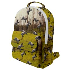Flying Sheep Flap Pocket Backpack (small) by snowwhitegirl