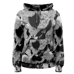 Black And White Snowballs Women s Pullover Hoodie by okhismakingart