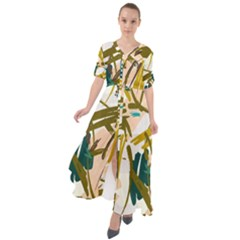 Abstract Brushstrokes Maxi Dress by JoneienLeahCollection