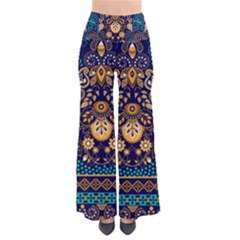 African Pattern So Vintage Palazzo Pants