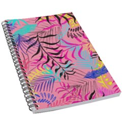Leaves 5 5  X 8 5  Notebook by Sobalvarro