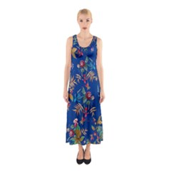 Tropical Paradise Sleeveless Maxi Dress by tarastyle