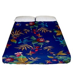 Tropical Paradise Fitted Sheet (king Size) by tarastyle