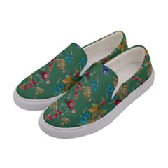 Tropical Paradise Women s Canvas Slip Ons by tarastyle