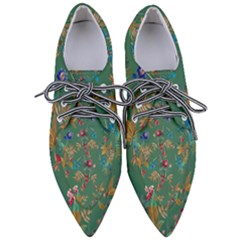 Tropical Paradise Pointed Oxford Shoes by tarastyle