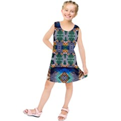 Tropical Paradise Kids  Tunic Dress by tarastyle
