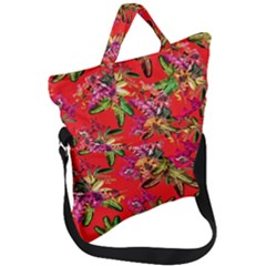 Tropical Paradise Fold Over Handle Tote Bag by tarastyle