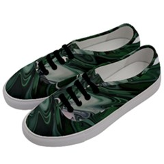 Green Marble Digital Abstract Men s Classic Low Top Sneakers by Pakrebo