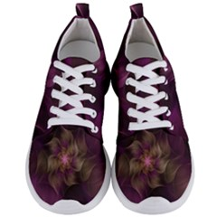 Fractal Pink Lavender Flower Bloom Men s Lightweight Sports Shoes