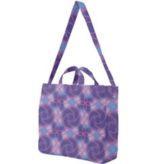 Colorful Abstract Pattern Square Shoulder Tote Bag by tarastyle
