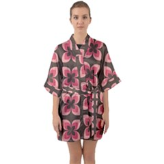 Beauty Is Anything Quarter Sleeve Kimono Robe by WensdaiAmbrose