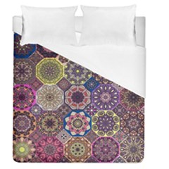 Oriental Duvet Cover (queen Size) by Sobalvarro