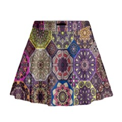 Oriental Mini Flare Skirt by Sobalvarro