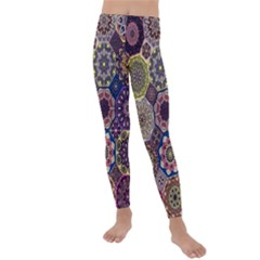Oriental Kids  Lightweight Velour Leggings by Wmcs91