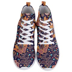 Paisley Men s Lightweight High Top Sneakers