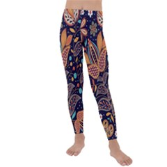 Paisley Kids  Lightweight Velour Leggings by Wmcs91